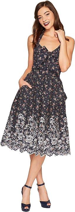Unique Vintage - Billie Halter Swing Dress