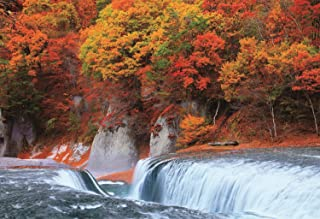 300ピース ジグソーパズル 紅葉の吹割の滝-群馬 (26x38cm)