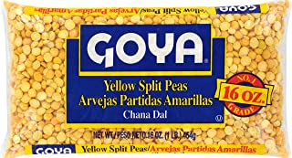 Goya Foods Yellow Split Peas, 16-Ounce (Pack of 24)