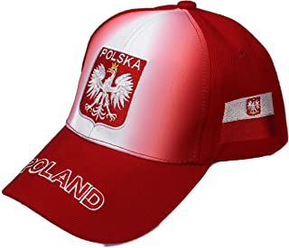 "High End Hats National Soccer/Football Team Faded Shadow Ombre Hat Collection "" Embroidered Adjustable Baseball Cap"
