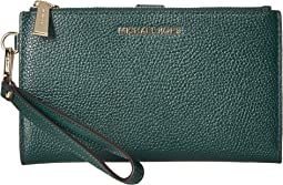 411b2578f3cef Racing Green. 40. MICHAEL Michael Kors. Double Zip Wristlet