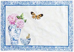 Maison d' Hermine Canton 100% Cotton Set of 2 Placemats 13 Inch by 19 Inch