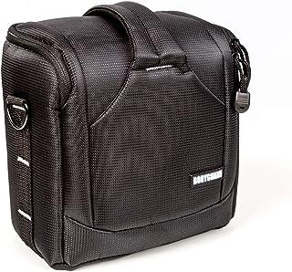BODYGUARD UNO SLR M > bolsa de cámara pequeña para cámaras SLR - Canon EOS 200D 800D 2000D 4000D Nikon D3500 D5600 D7200 D7500 Panasonic FZ82 FZ300 FZ1000 Sony HX400V Nikon B500 B600