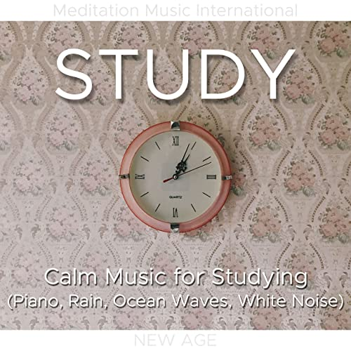 Study - Calm Music for Studying (Piano, Rain, Ocean Waves