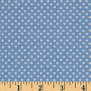 Cotton + Steel S.S. Bluebird Shibori Sky Blue Fabric by The Yard