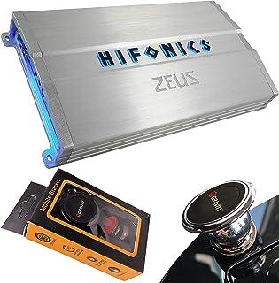 Hifonics ZG-1200.4 Zeus Gamma 1200 Watts 4-Channel Full Range Bridgeable Audio Amplifier Class A/B Amp for Car & Vehicles ... photo