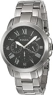 Fossil Men's FS4736IE Analog Quartz Silver Watch