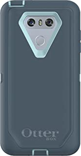 OtterBox Defender Series Case for LG G6 - Frustration Free Packaging - Moon River (Bahama Blue/Tempest Blue)