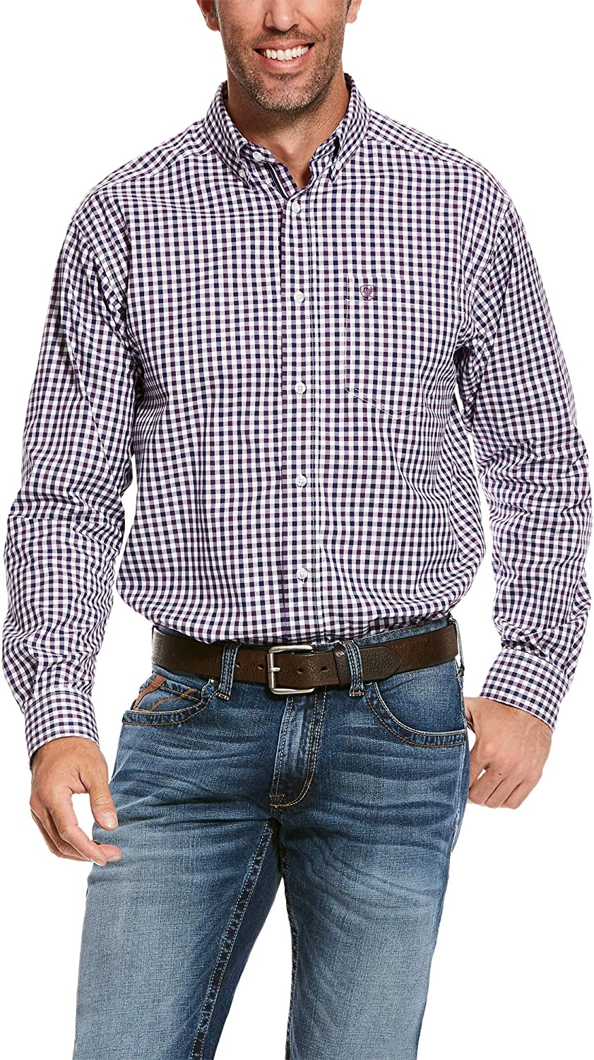 ARIAT Men's Pro Series Fit Max 79% New product! New type OFF Classic Shirt Shane