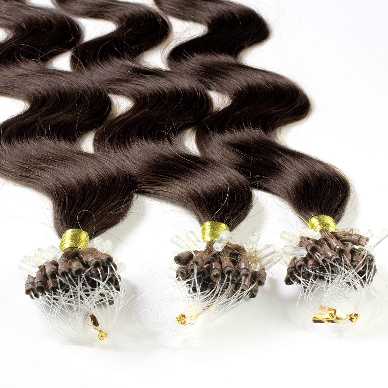 Hair2Heart 100 x 0.5g Purchase Fashionable Microring Loop # Extensions 20