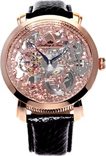 Lindberg & Sons - Reloj analógico para Hombre de automático con Correa en Piel SK14H065