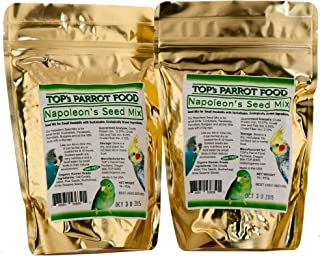 TOP's Napoleon Bird Seed Mix for Small Parrots (1lb/453g) PACK of 2