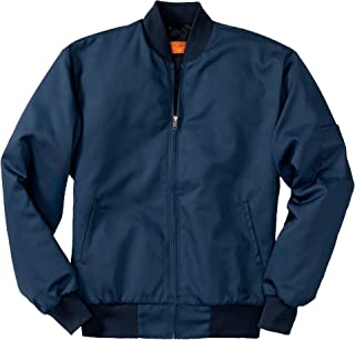 Team Style Jacket with Slash Pockets. CSJT38