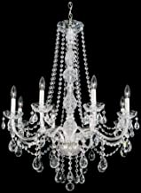product image for Schonbek 1305-40H Swarovski Lighting Arlington Chandelier, Silver