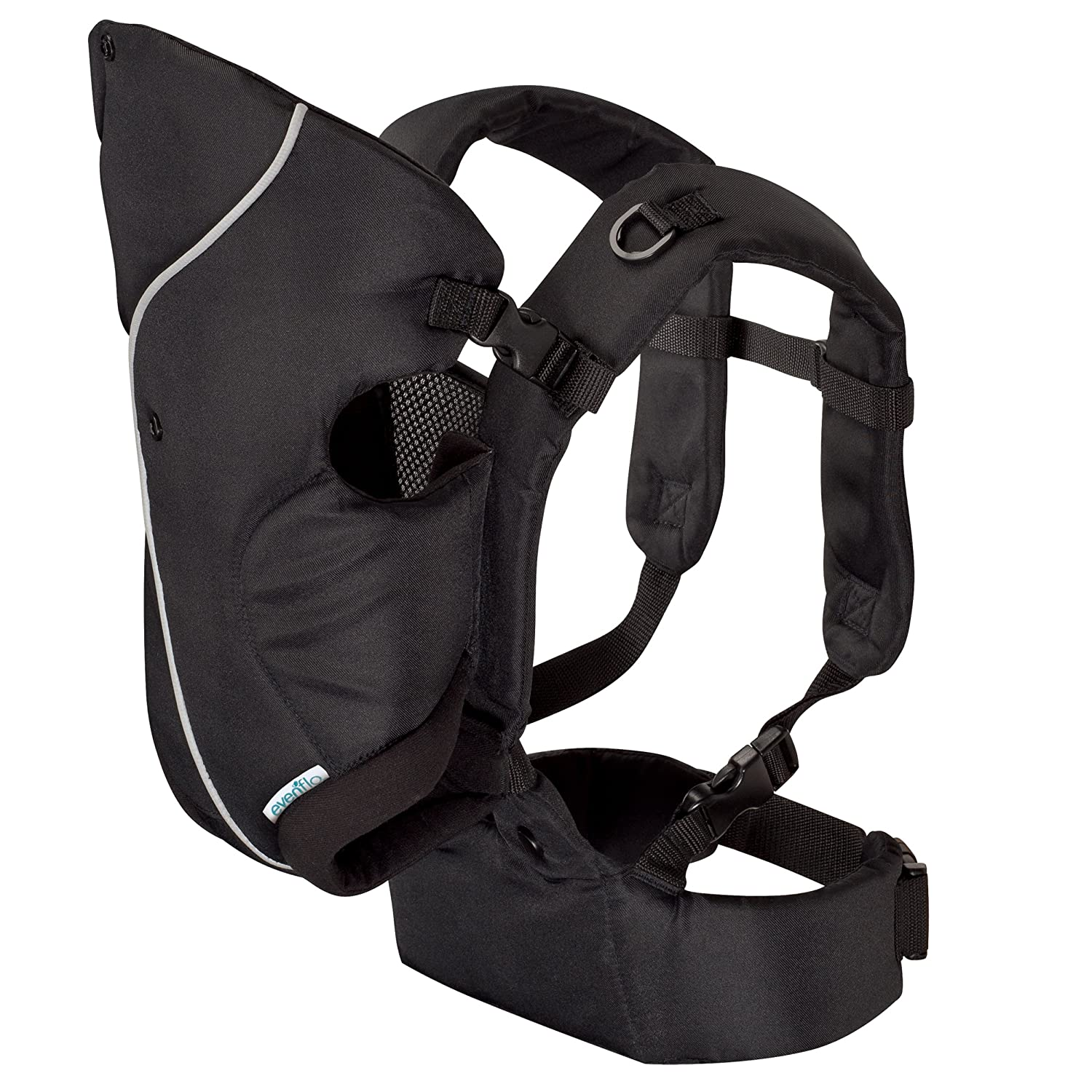 Evenflo Active Soft Carrier, Stealth (Discontinued by Manufacturer)