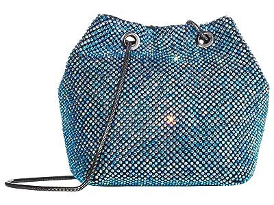 Jessica McClintock Valentina (Iridescent Blue) Handbags