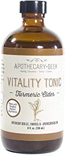 Apothecary Geek Organic Vitality Tonic - Turmeric Cider (8 oz.)