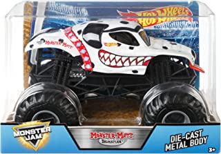 Hot Wheels Monster Jam Brown Monster Mutt Vehicle, 1:24 Scale