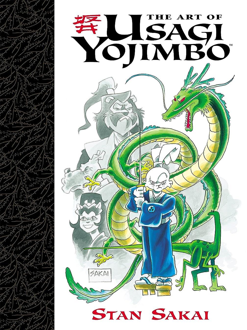 ミット押し下げる繊維Art of Usagi Yojimbo (English Edition)