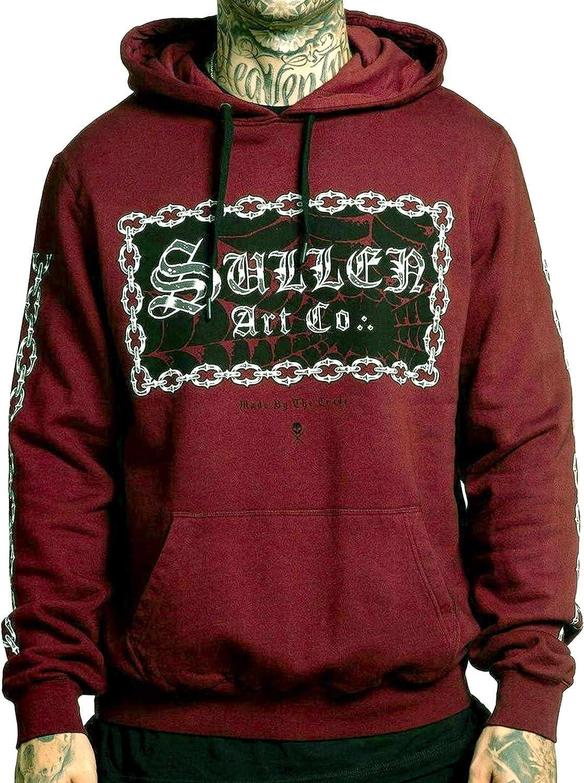 Sullen Men's Chain Gang Long Sleeve Pullover Hoodie