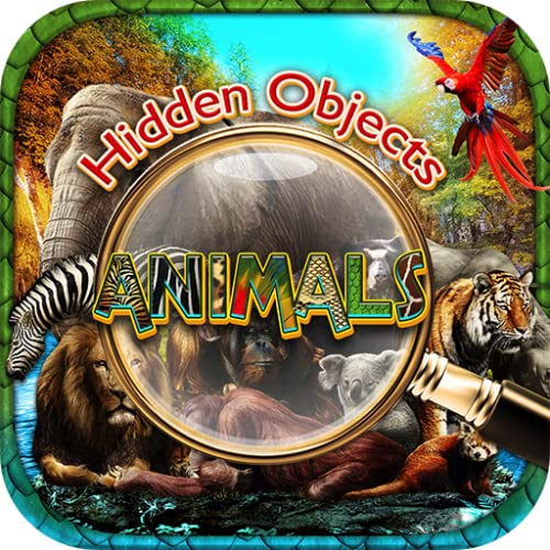 Hidden Objects Animals - Worldwide Animal Kingdom Seek & Find Object Puzzle Photo Pic Travel Adventure Time & Spot the Difference Game