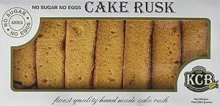 KCB Cake Rusk No Sugar Added Vegetarian 10oz