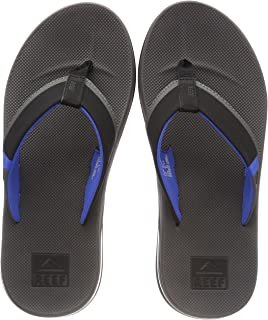 REEF Men's Sandals Fanning Low | Bottle Opener Flip Flops for Men