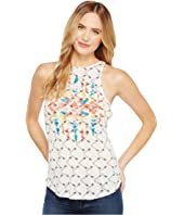 Rock and Roll Cowgirl - Loose Knit Tank Top 49-1165