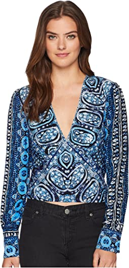 Free People Wild and Free Blouse
