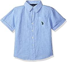 U.S. Polo Assn. Boys' Short Sleeve Fancy Sport Shirt