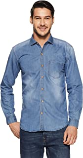 Dennison Men's Plain Slim Fit Casual Shirt