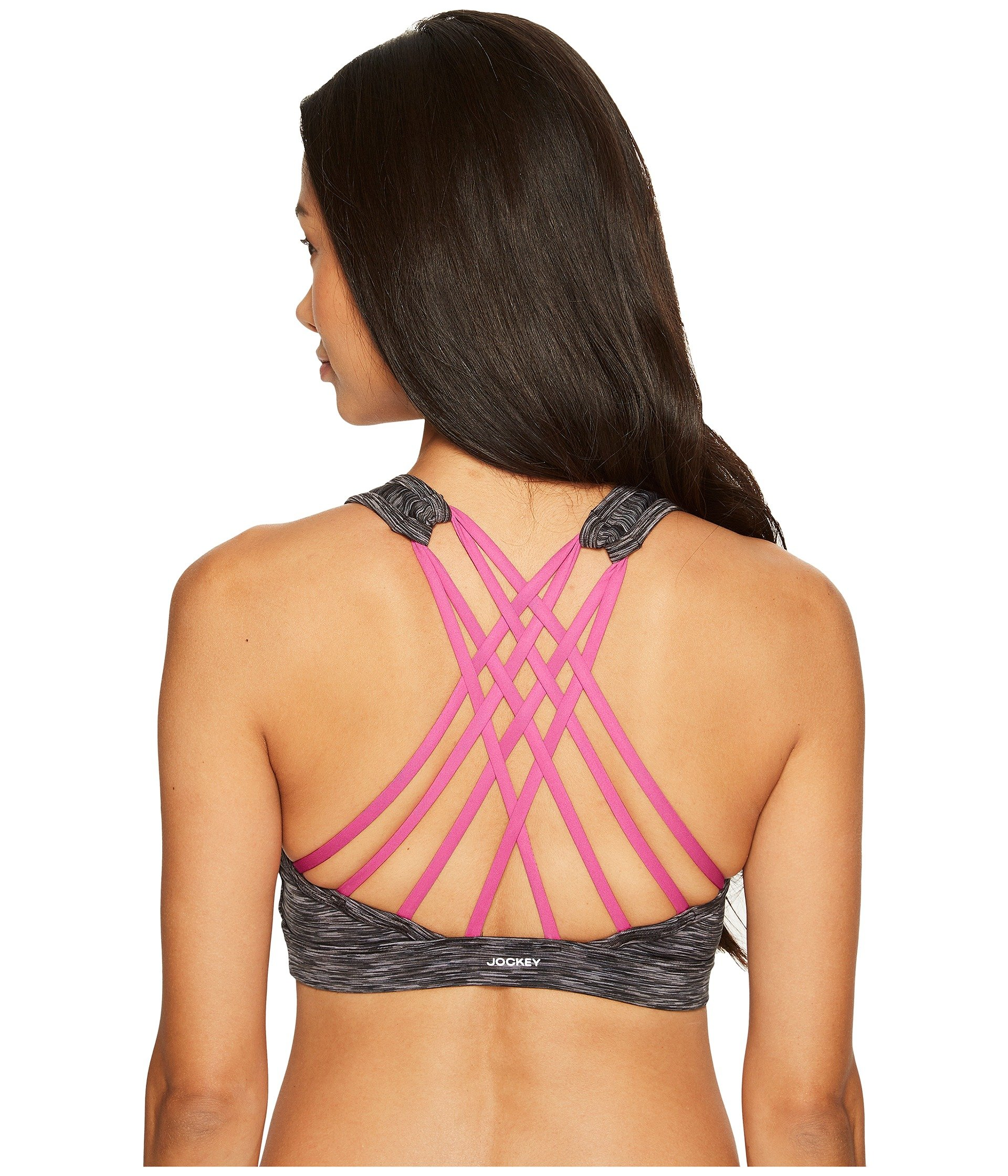 Brasier Jockey Active Crisscrossed Back Sports Bra  + Jockey en VeoyCompro.net