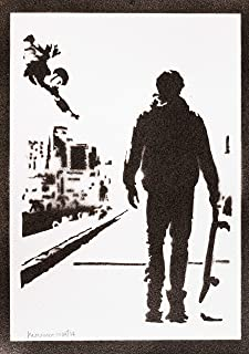 Poster Tony Hawk's Pro Skater Handmade Graffiti Street Art - Artwork