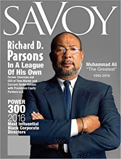 Savoy Magazine Summer 2016 - Richard Parsons Cover Featuring the Most Influential Black Corporate Directors