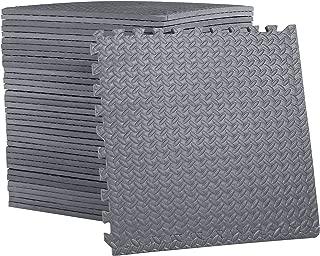 CAP Barbell 3/4-Inch Puzzle Exercise Mat with EVA Foam Interlocking Tiles