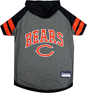 Pets First Chicago Bears Hoodie for Dogs & Cats. NFL Football Licensed Dog Hoody Tee Shirt, Small. Sports Hoody T-Shirt fo...