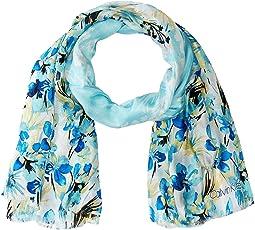 Garden Floral Silk Mesh