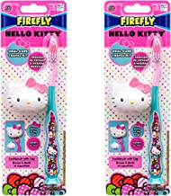 Hello Kitty Children Toothbrush with Travel Cap and suction cup- 2pack