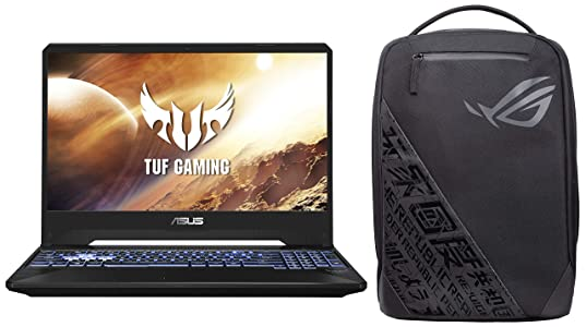 ASUS TUF Gaming FX505DT 15.6-inch FHD Laptop, Ryzen 5 3550H, GTX 1650 4GB GDDR5 Graphics (8GB RAM/1TB HDD + 256GB NVMe SSD/Windows 10/Stealth Black/2.20 Kg), FX505DT-BQ596T
