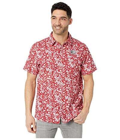 Columbia College Alabama Crimson Tide CLG Super Slack Tide Shirt (Red Velvet) Men