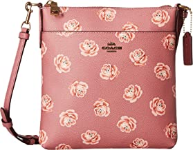 COACH Womens Messenger Crossbody in Floral Print