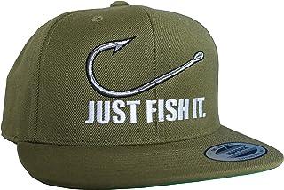 Baddery Angler Hut: Fish It - Geschenk für Angler - Angelbekleidung - Cap für Angler - Anglermütze - Angler Kappe - Angler Mütze - Classic Snapback von Flexfit
