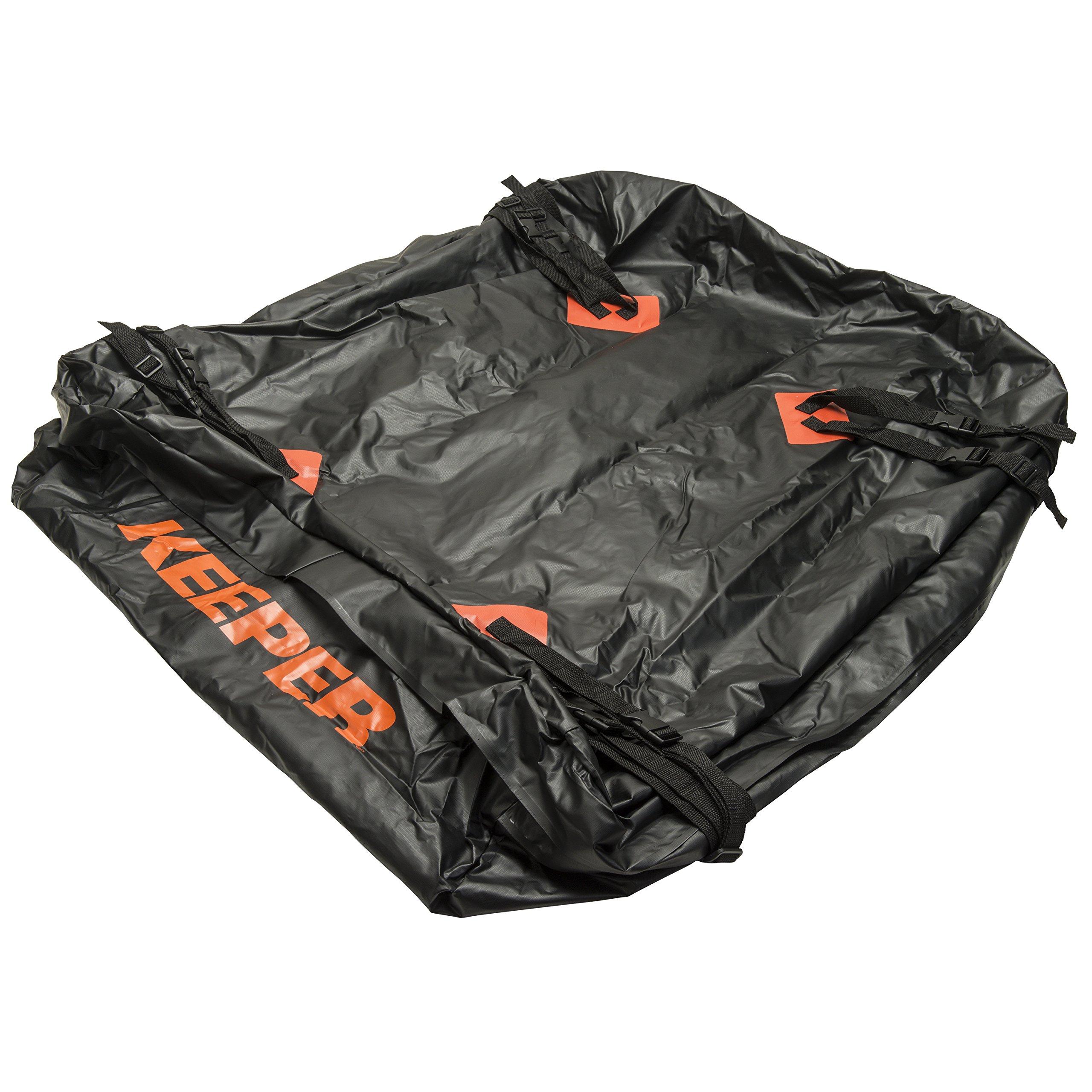 Keeper 8-8 Waterproof Roof Top Cargo Bag (85 Cubic Feet)
