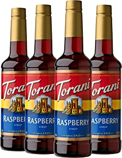 Torani Syrup, Raspberry, 25.4 Ounces (Pack of 4)