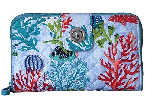 Vera Bradley Iconic RFID Turnlock Wallet at Zappos.com - photo#23