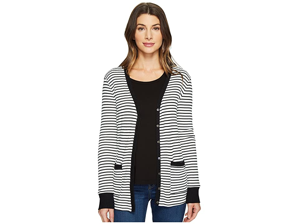 Three Dots Cardigan (Gardenia) Women