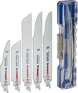 LENOX Tools Demolition Reciprocating Saw Blade Kit with Bonus Storage Case, 12-Piece Set