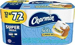Charmin Ultra Soft Toilet Paper 12 Super Mega Roll, 12 count