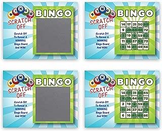 My Scratch Offs Bingo Scratch Off Game Cards - 26 Cards (24 Non Bingo, 2 Bingo)