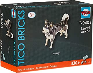 TICO Mini Bricks dog series Husky T-9403